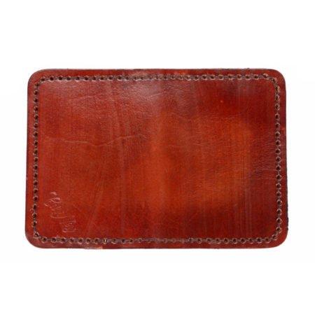 Etui porte carte bancaire en cuir