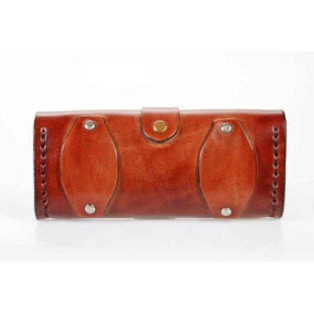 Pochette horizontale en cuir à mettre à la ceinture