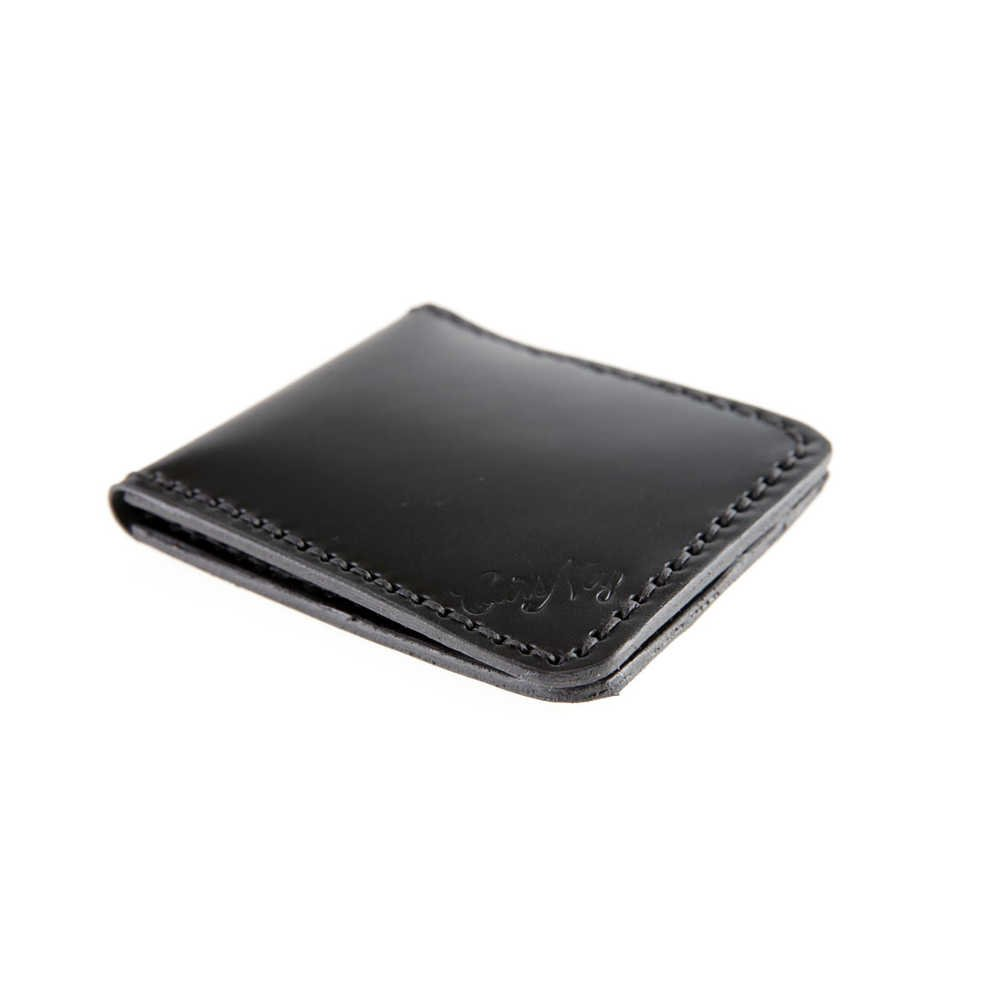 Porte cartes bancaires en cuir noir - Cuirs Ney 4348895358c