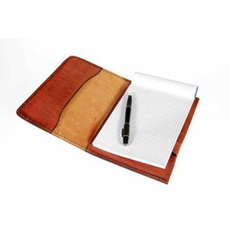 Protège carnet en cuir ou protège agenda