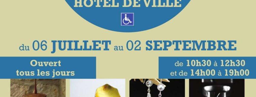 Exposition vente à l'hôtel de ville d'Arbois