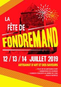 Fête deFondremand 2019
