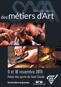 Salon des Métiers d'Art à Saint-Claude, les 9 et 10 novembre 2019